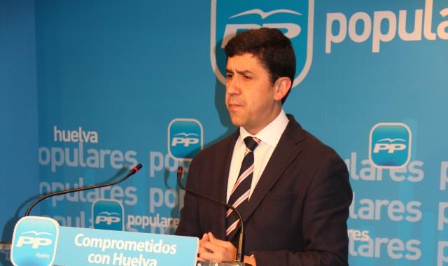 Parlamentario andaluz del PP, Alberto Fernández