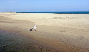 Playa de Punta del Caimán en Isla Cristina