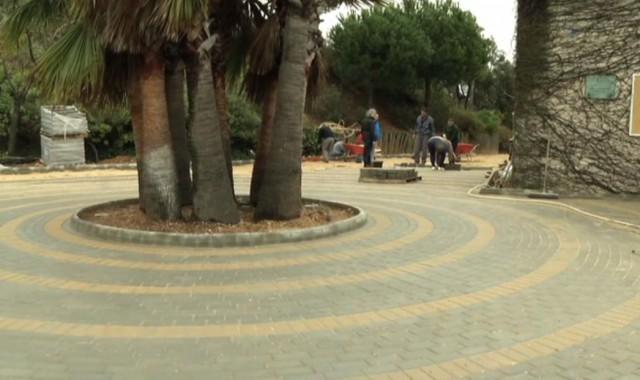 Obras de mejora en el Parque Celestino Mutis