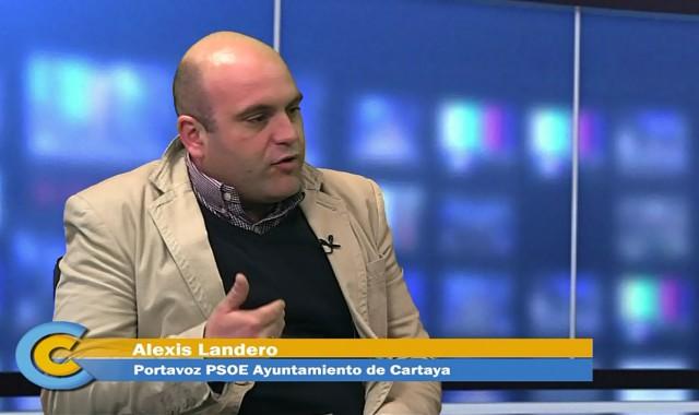 Alexis Landero en Contraportada
