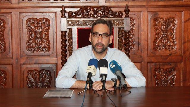 El alcalde de Ayamonte, Antonio Rodríguez Castillo