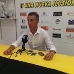 Alejandro Ceballos, entrenador del San Roque.