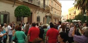 Traslado Virgen de la Salud Ayamonte