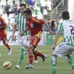 Un instante del partido jugado en el Benito Villamarín.