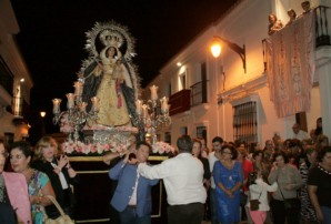 Procesión extraordinaria Rosario Cartaya
