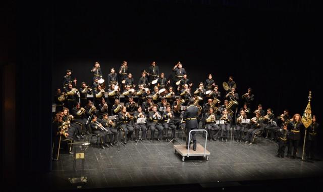 La Banda de Cornetas y Tambores de la Escuela Municipal de Música de Punta Umbría