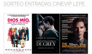 Sorteo CineVip Lepe