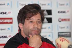 José Dominguez, entrenador del Recreativo de Huelva.