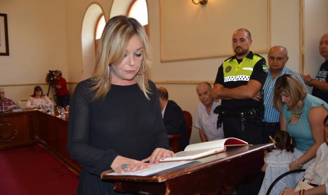 Rocío Cárdenas, alcaldesa de San Juan del Puerto