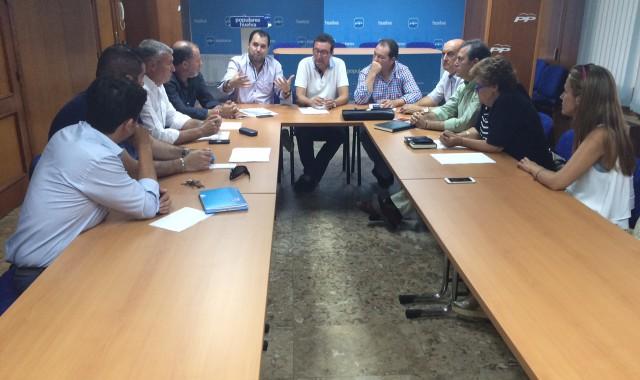 Reunión alcaldes PP Huelva
