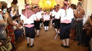 Misa con Danza de los Palos de Villablanca