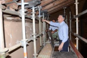 Carmelo Romero visita tejados