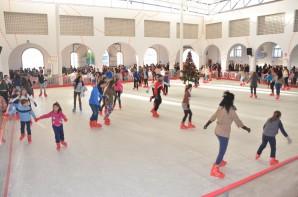 Pista de patinaje en Palos