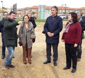 Visita obra PROFEA Aljaraque