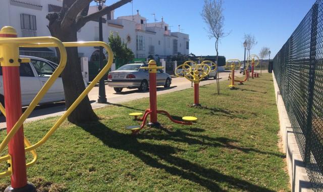 parque biosaludable en La Redondela