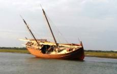 Galeón encallado en Punta 1