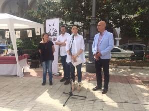 Inauguración de la Feria del Libro en Lepe
