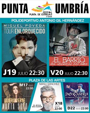 Ayto. Punta Umbría - Festival Estrellas 2018