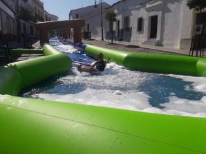 tobogán acuático la Puebla de Guzman