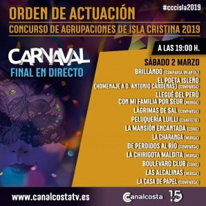 Gran final del Carnaval de Isla Cristina