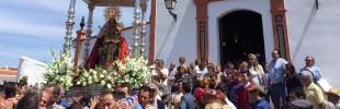 Puebla de Guzmán celebra el día grande de su romería