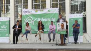Antonio Maíllo respalda al candidato de Adelante Aljaraque