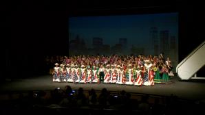 La Academia Municipal de Baile de Lepe interpretó el espectáculo 'New York, New York'