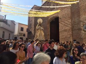 La Virgen de Pierdas Albas regresa al Padro de Osma en un multitudinario traslado
