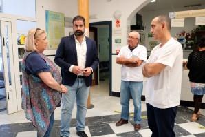 La delegada territorial de Salud visita los Centros de Salud de Cartaya y El Rompido