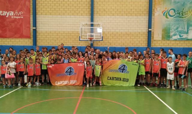 El IV Campus de Baloncesto CampoSur vuelve a celebrarse en Cartaya