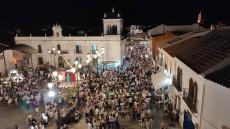 Multitudinaria participación en la VI Noche en Blanco de Cartaya