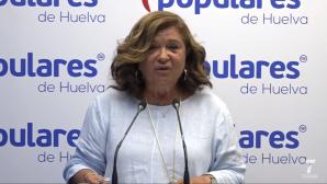 """Carmen Céspedes asegura que Huelva es """"una prioridad"""" para Juanma Moreno"""