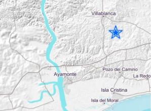 Registrado un terremoto con epicentro en Villablanca