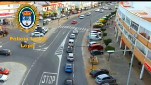 La Policía alerta de fallos en los semáforos de la travesía en la N-431