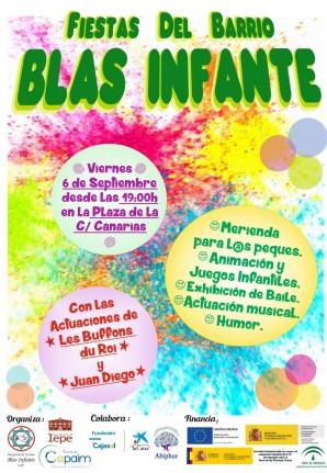 Las Fiestas del Barrio Blas Infante de Lepe se celebrarán este viernes