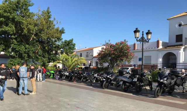 Villablanca celebró la Vuelta Turística al Andévalo en moto