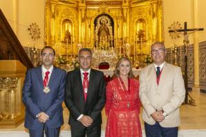 Francisca Jurado exalta a la Virgen del Rosario