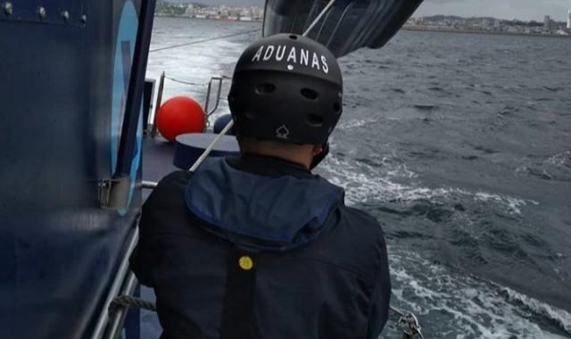 El pesquero interceptado en Punta Umbría llevaba 2.600 kilos de hachís
