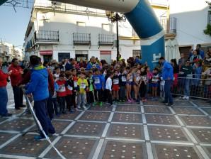 Espectacular Carrera Nocturna 'San Antonio Abad' en Trigueros