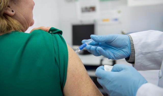 Vacunación gripe enero