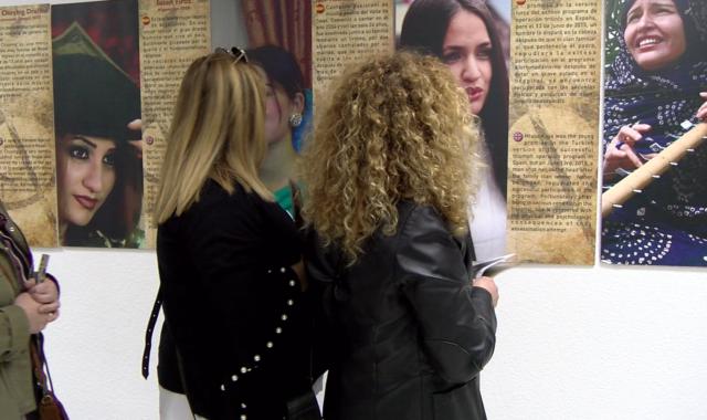 La Casa de la Cultura de Aljaraque acoge la exposición 'Ellas también llevan la Batuta'