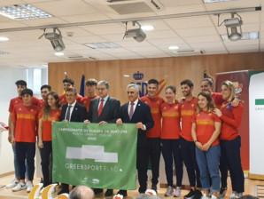 Bandera Verde del Deporte en el Campeonato de Europa de Duatlón en Punta Umbría 01