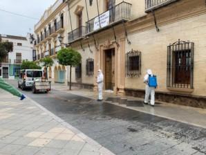 Ayamonte pone en marcha la segunda fase del operativo de desinfección