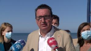 """Manuel Andrés González """"La Junta es la única que está cumpliendo con el litoral"""""""