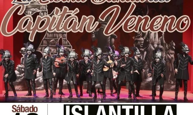 'La Eterna banda del Capitán Veneno' traslada a Islantilla su actuación de Ayamonte