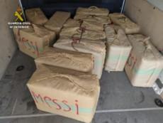 5 detenidos y 500 kilos de hachís incautados por la Guardia Civil en Ayamonte