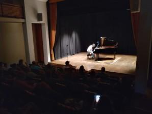 Marcelo Jeremías Giménez ofreció el sábado su concierto de piano