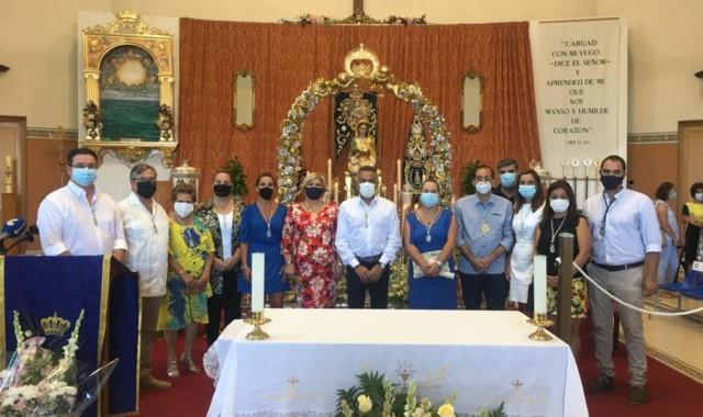 Punta del Caimán celebra la festividad de la Virgen del Mar