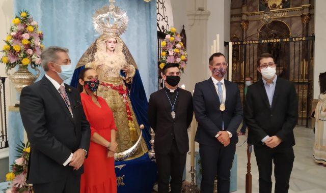 Enrique Uzcátegui exaltó a María Santísima de la Victoria en Lepe
