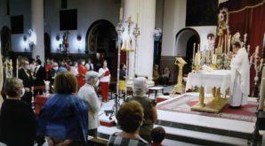 La parroquia de Cartaya acoge estos días la Solemne Novena del Rosario